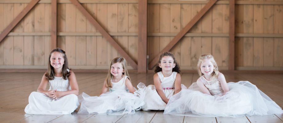 Flower Girls from The Valley Bride. Winchester VA